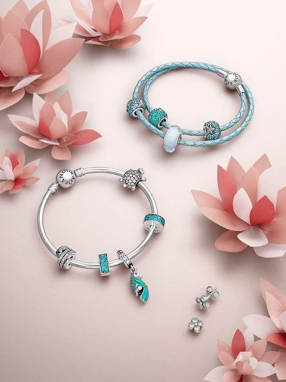 Новая коллекция браслетов пандора