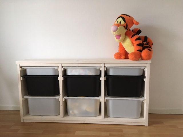 Speelgoed Kast Van Steigerhout Met Trofast Bakken Gemaakt