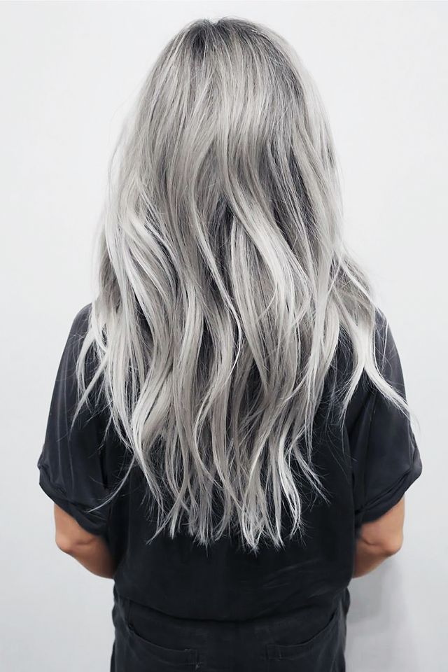 New Trend Grey Hair