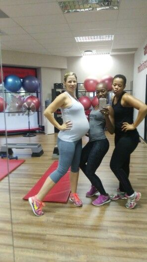 We just enjoyed our training with our gourgeous Preggi