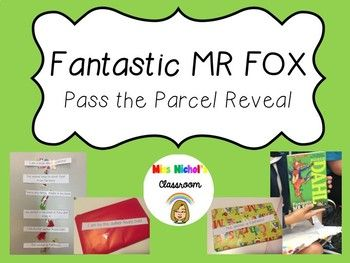 This product is perfect for anyone wanting to engage their students in reading by revealing their classroom shared reading book 'Fantastic Mr Fox' through the game 'pass the parcel'. Wrap up the book, print out these clues and attach a clue to each layer