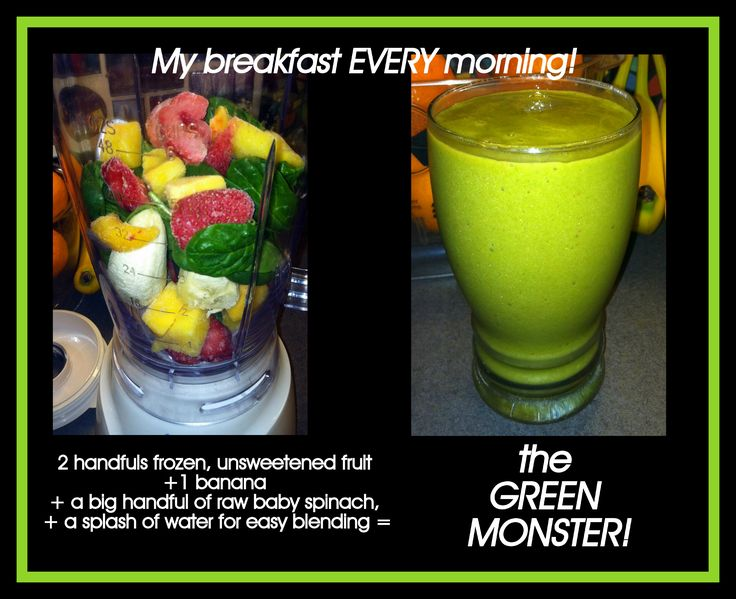 "I have made these every morning since starting Weight Watchers at the beginning of the month! It is ZERO WW points, and gives you 3 fruit servings, and 2 vegetable servings a day! I cannot tell you how good it is! You CANNOT CANNOT CANNOT taste the spinach, I promise! Believe me, if Kasey will drink these (very willingly) then you KNOW it has to be good! A friend of hers called it the ""Shrek Smoothie""! DE-licious, and amazingly good!"