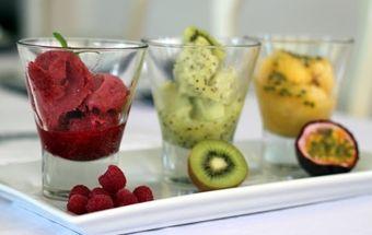 Идеальный сорбет или фруктовое мороженое - изысканный вкус фруктовой прохлады!