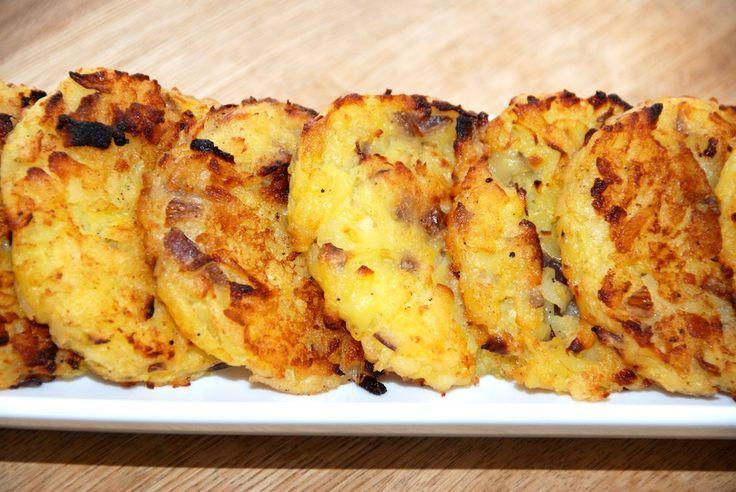 De hjemmelavede kartoffelrøsti smager meget bedre end dem, som mange henter hjem på frost fra supermarkedet. Foto: Guffeliguf.dk.