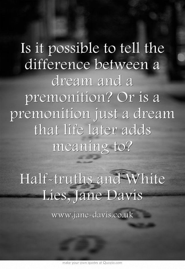 Premonition Meaning | www.pixshark.com - Images Galleries ...