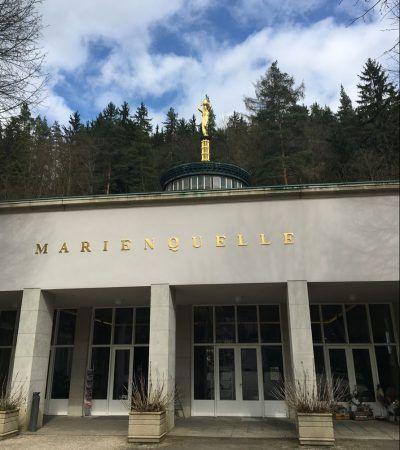 Spaziergang rund um Bad Elster - Die Marienquelle