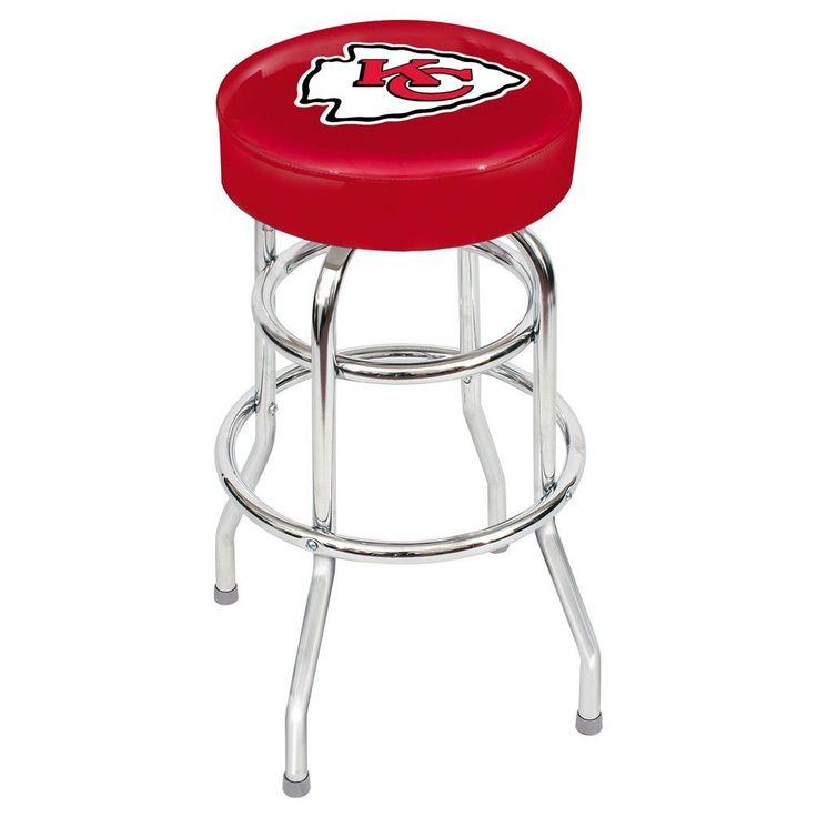 Kansas City Chiefs Game Room Stool
