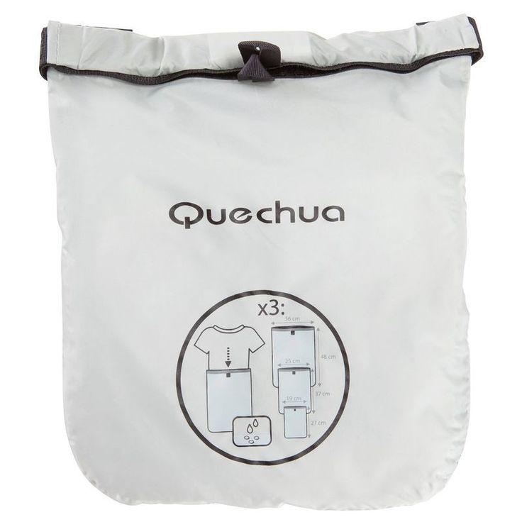 Zaini Montagna, Trekking - 3 sacche impermeabili x abiti QUECHUA - Materiale montagna