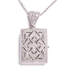 Diamond Locket Pendant
