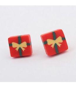 FREE-GIFT-BAG-Christmas-Xmas-Cute-Present-Stud-Ladies-Earrings-Costume-Jewellery  just £3.99! #earrings #xmas