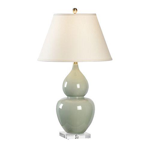 Chelsea House Green One Light Fulton Vase Lamp 68814 In 2020