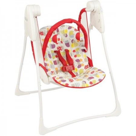 Balancelle Graco Baby Delight garden friends rouge