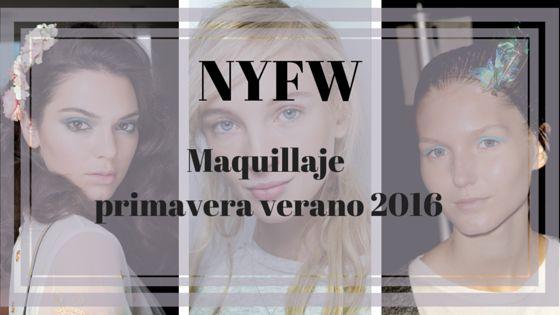 NYFW Tendencias de Maquillaje