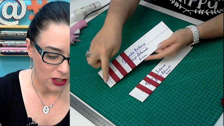 Como Fazer Laço Chanel com Fita (Muito Fácil) para Cartonagem e outros A...