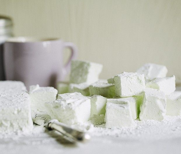 Elderflower marshmallows