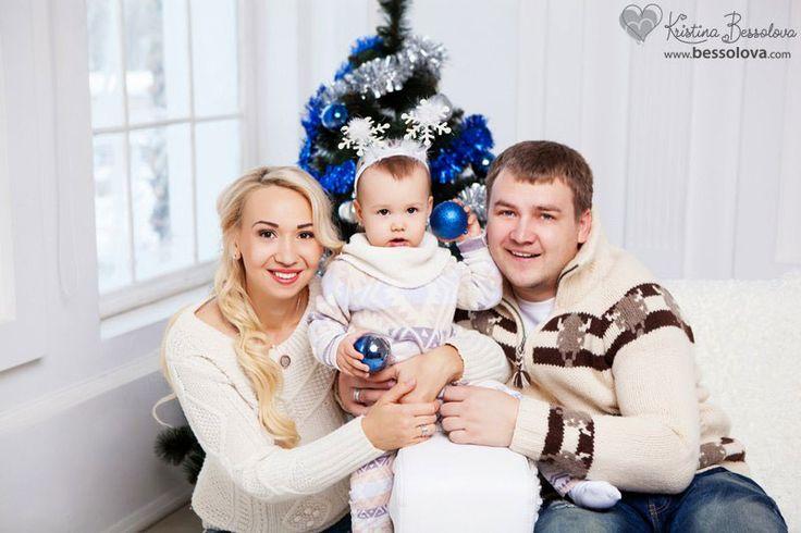 новый год, идеи для семейной фотосессии