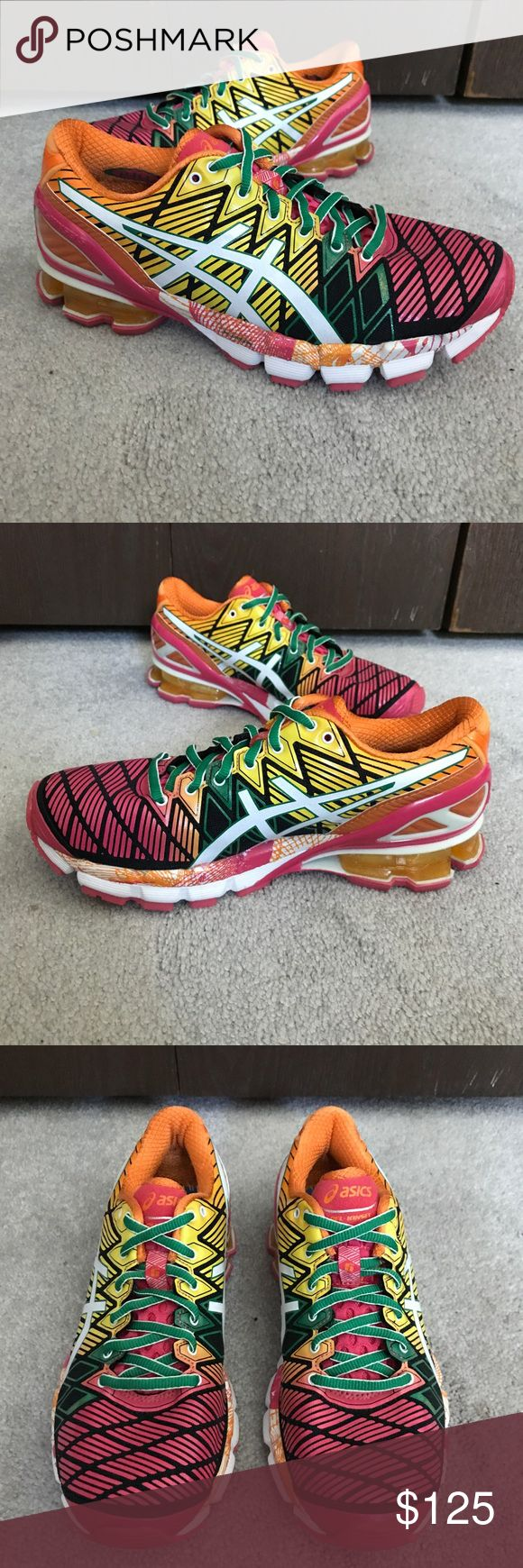 NEW Women's Asics Gel-Kinsei 5 Shoes are missing the insoles, but have never been worn. Asics Shoes Athletic Shoes