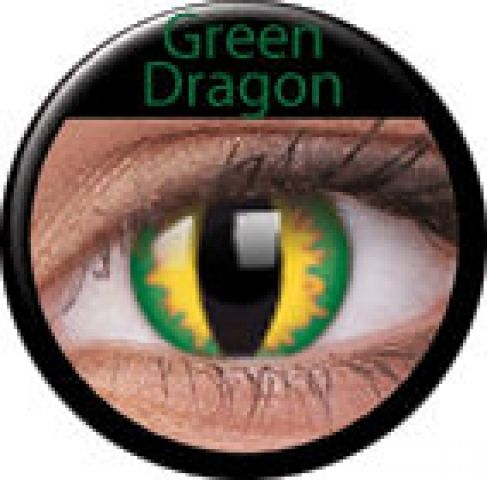 Green Dragon Prescription Contact Lenses (1 pc)- only $37/pair but they only come in -4.00
