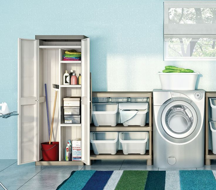 Armadio lavanderia prezzi design casa creativa e mobili - Mobili per lavanderia domestica ...
