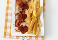 Rezeptklassiker: Currywurst mit Pommes