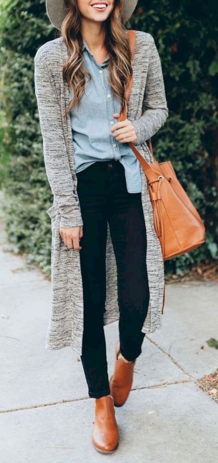 Cool 95+ Chic Fall Outfits Ideas for Women https://bitecloth.com/2017/12/03/95-chic-fall-outfits-ideas-women/