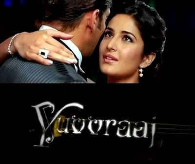Salman and Katrina from Yuuvraaj.