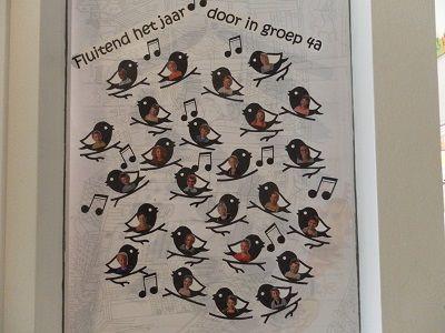 deurversiering nieuw schooljaar