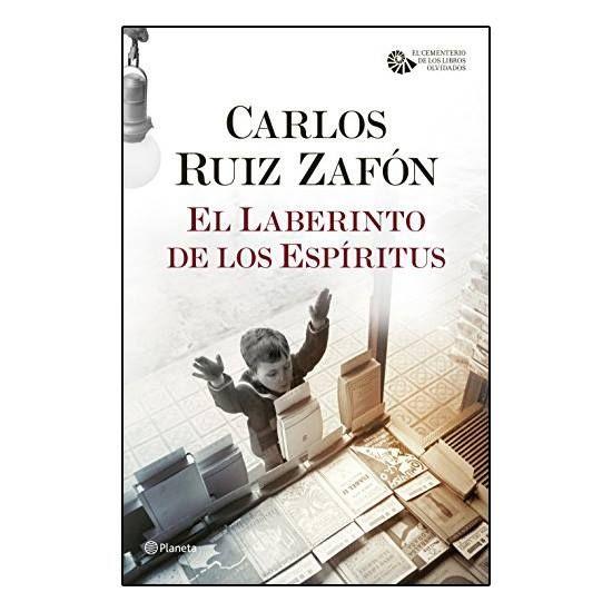 """Libro """"El Laberinto de los Espíritus"""" http://www.milideaspararegalar.es/producto/libro-el-laberinto-de-los-espi%c2%adritus/"""