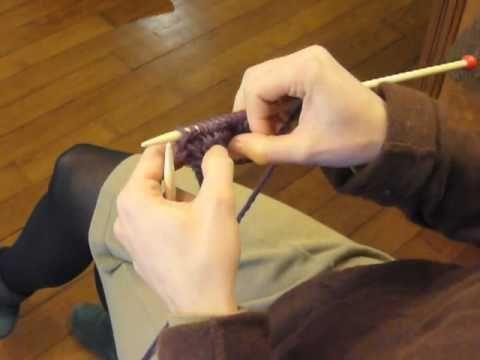 Cours de tricot 6 - les côtes (pleins de petits tutos bien expliqués)