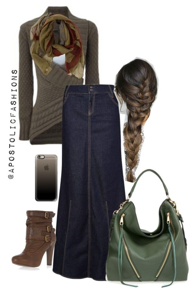 """""""Apostolic Fashions #774"""" by apostolicfashions ❤ liked on Polyvore featuring MANGO, Dorothy Perkins, Rebecca Minkoff and Casetify"""