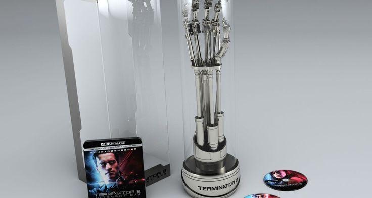 Blu-ray 4K de O Exterminador do Futuro 2 dá de brinde um braço robótico