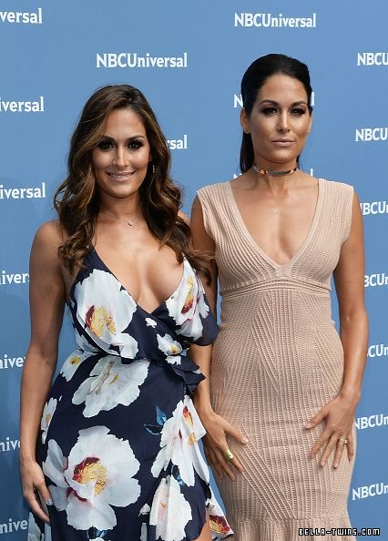 NBCUniversal Upfront - 2016 - Arrivals - 531817704 - DOUBLE GLAMOUR // Your largest Brie & Nikki Bella Photo Archive, with over 350,000 photos