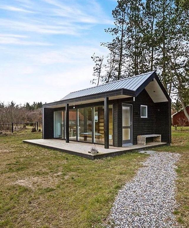 24 m2 (258 sq ft) tiny house in #Jutland #Denmark by Simon Steffensen #interiors #interiordesign #architecture #decoration #interior #home #design #camper #bookofcabins #homedecor #decoration #decor #prefab #diy #lifestyle #compactliving #fineinteriors #cabin #shed #tinyhomes #tinyhouse #cabinfever #inspiration #tinyhousemovement #airstream #treehouse #cabinlife #cottage