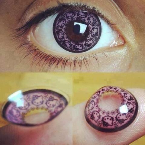 HK contact lenses!
