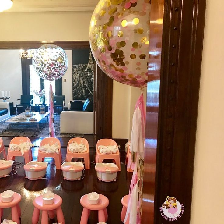 """41 Likes, 9 Comments - We Came Here To Party (@wecameheretopartyaus) on Instagram: """"🌸Welcome to Zoe's Princess Pamper + High Tea birthday🌸 Here's a sneak peek of our feature combined…"""""""