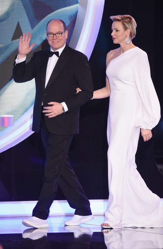 Prince Albert and Princess Charlene attended the 2018 Laureus World Sports Awards  27 Feb 2018