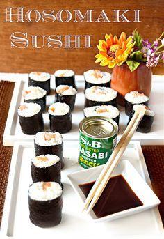Continuano i miei esperimenti con la cucina asiatica e in particolare oggi vi porto   in Giappone con gli Hosomaki sushi!!L'hosomaki ...