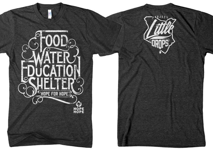 t shirt for hope by hope by twicolabs potd99 07012013 food