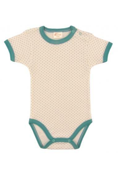Body maneca scurta cu buline - haine copii online | haine copii ieftine