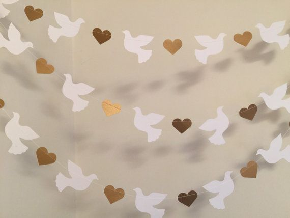 Christening Garland - Gold