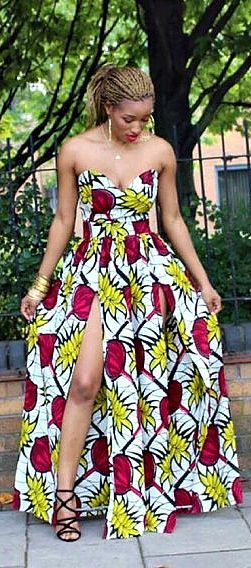 Online Hub For Fashion Beauty And Health: Sexy Ankara Creative Gown Styles For The Elegant B...