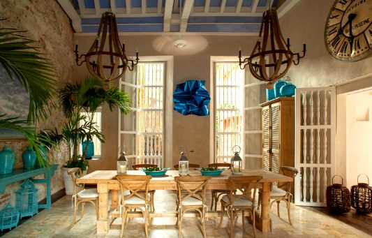Casa Botero - A Luxury Cartagena Rental with an artistic pedigree that is hard to hide