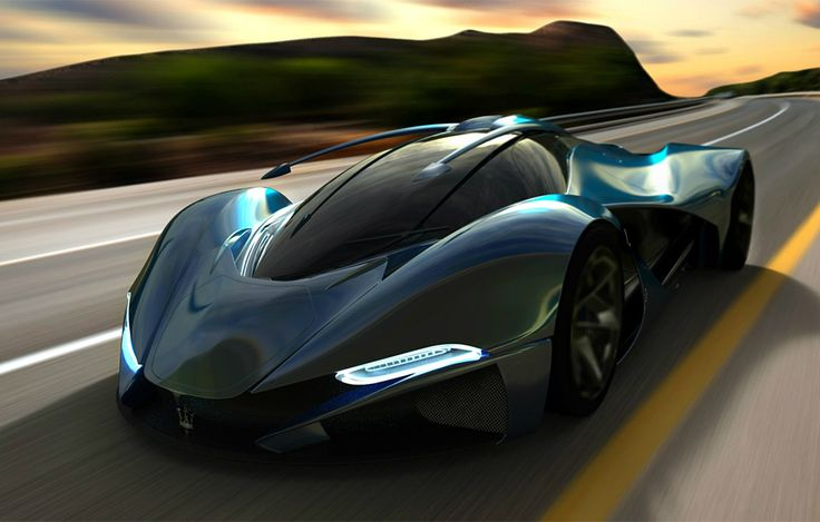 UK Designer Mark Hostler envisions this incredible LaMaserati concept car…