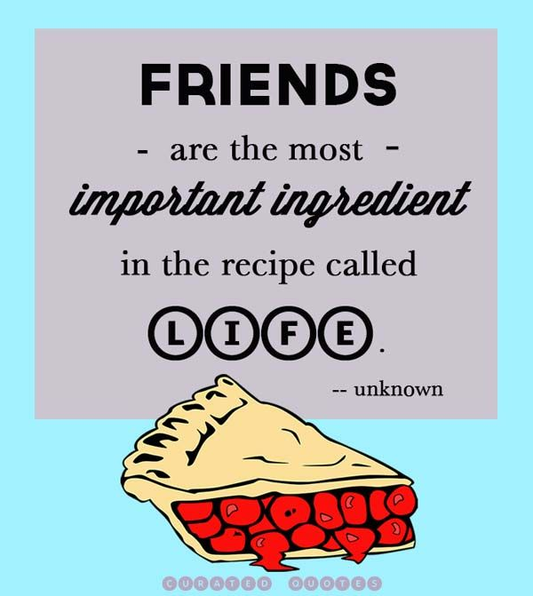 A great friendship quote...