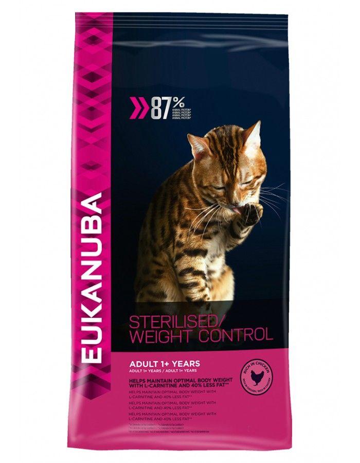Eukanuba Cat Adult Sterilised/ Weight Control 10 kg