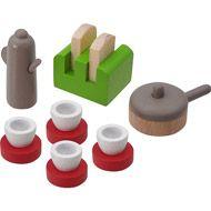 Conjunto de utensílios de casinha de bonecas