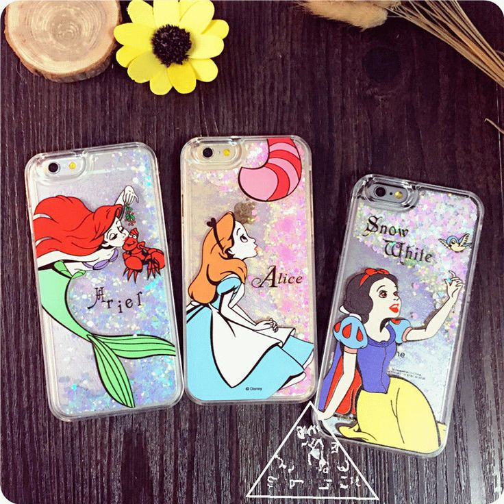Cartoon disney Princess Ariel Liquid Glitter case cover for apple iphone 6S plus in Mobile Phones & Communication, Mobile Phone & PDA Accessories, Cases & Covers | eBay!