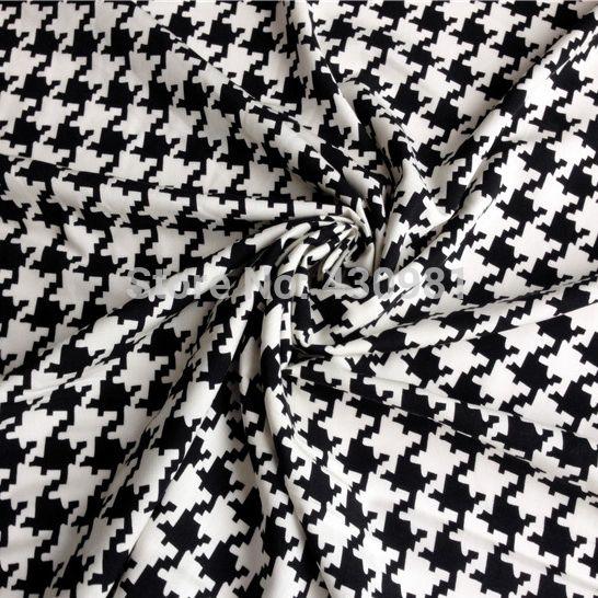 """Гусиные лапки """","""" ткань моды, платье, одежда мягкого хлопка поплин материал ткани"""