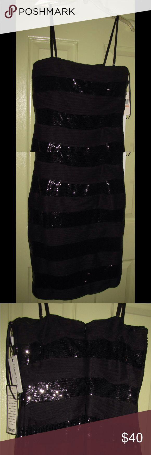 Calvin klein black special occasion dress s 10 nwt calvin klein special occasion dress it s