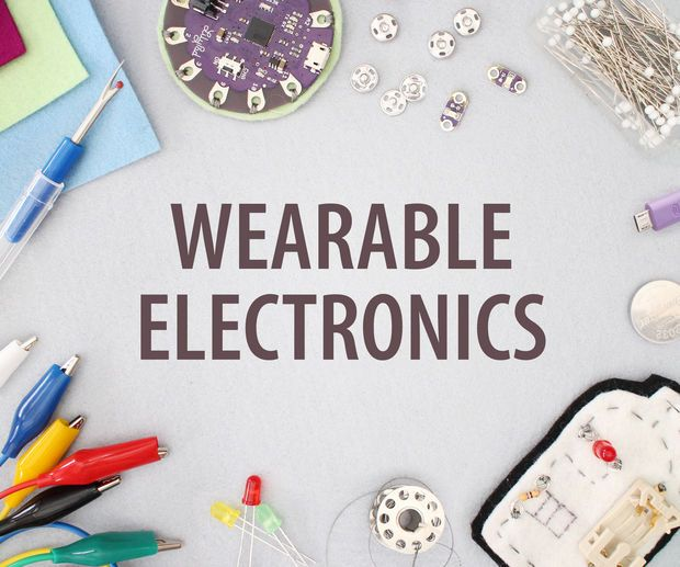 Wearables for beginners! Learn how to build wearable electronics and program interactions using Arduino software.